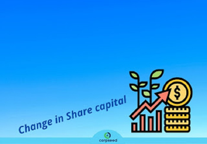 Summary of Change in Share Capital